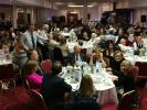Guests and Rotarians enjoying their night at the Burns Supper