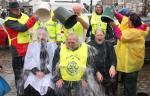 Wensleydale Rotary does Ice Bucket challenge for MNDA -