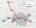 Crossrail map including proposed extensions (not approved)