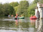 Boating at Craigtoun Country Park