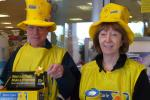 Marie Curie Cancer Care collection at Asda Sittingbourne