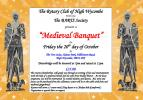 Medieval Banquet Poster