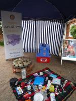 Rotary Club of Loddon Vale stand at the Scarecrow Festival
