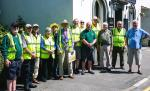 Cockermouth Carnival  - Rotary Club members prepare to guide traffic for a successful Carnival 2017