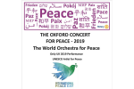 The Oxford Concert for Peace