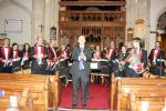 Swindon Pegasus Brass at the Rotary Concert for charity in Highworth Parish Church