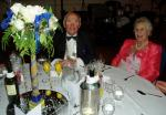 PRESIDENT'S NIGHT DINNER DANCE - President Peter and Shirley after an excellent meal.