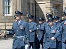 Marching RAF party