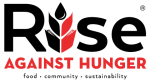 Rise Against HUNGER - Rise against HUNGER logo.
