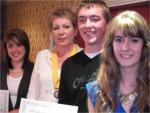 Presentations - Presentation of RYLA award certificates to three local pupils