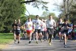 The Relay Marathon in the glorious Broadlands Park