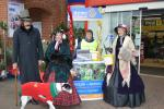 Collecting at Tescos -