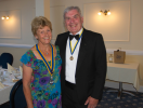 Handover of Presidency from Beryl Ely to Mike Jukes