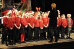 St Herbert's School Choir Performing