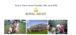 Rotary Becket Goes to Ascot