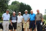 Six played golf for the Fleet Rotary President's Trophy