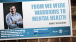 Plymouth Moor View MP and supporter of many Rotary projects Johnny Mercer will be speaking to us and the other local Rotary Clubs about his Mental Health campaign and his time in the Army.