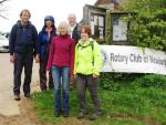 May 11th Rotary Sponsored Walk