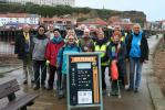 Rotarians and Beach Sweep Members with the Rotary Board