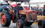 The Vintage tractors come rolling through