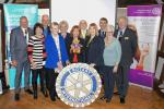Rotary Awareness Display - The Rotary Club of Rayleigh Mill publicises the work of Rotary locally and worldwide