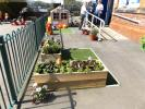 VICTORIA SCHOOL IN SPRING 2018 - The Coop sponsored Community Garden at Victoria school  April 2018