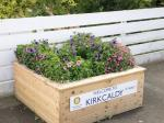 Planter at Kirkcaldy Railway Station