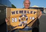 May 2014 Homeless Football Outing to Wembley - Wembley here we come!