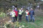 Community & Vocational - Ashtead Rotarians lend a hand with a Woodfield autumn clean-up