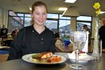Young Chef  2 - East Area round - Lauren McLay was the winner and Vaila Robertson runner-up in the East Area round of the Young Chef competition which was held in Preston Lodge High School.  The two Beeslack pupils go on to the District final to be held on 23 February.  Good luck to both