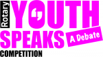 Youth Speaks: A Debate logo
