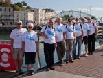 Archive Pictures 2012-2013 - Water Aid Walk 15 September - All back safe and sound at Torquay Harbour, now for a pint!