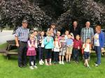Children from Chernobyl  - Children from Chernobyl visit Low Sizergh Farm