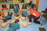 The Local Community - CPR training in the local community