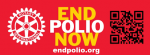 End Polio Now QR Code