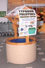 Philippines  Typhoon Collection Hart Centre and Fleet Road - Fantastic response to Fleet Rotary Philippines Disaster collection.