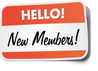 Céad míle fáilte! (Welcome) New Members
