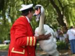 The Queen's Swan Marker - David Barber