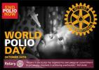 World Polio Day - Crocus Planting - World Polio Day - 24th October 2017