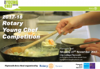 Our local heat of the Young Chef competition takes place on 27th November at City College Plymouth.