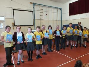 Dictionaries to St Edmunds Primary School