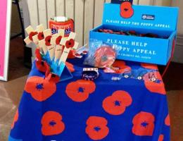 British Legion Poppy Appeal - Nov 2017