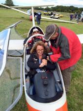 Gliding Event at Seighford Airfield