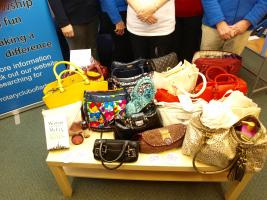 Handbags to help Home-start Falkirk West