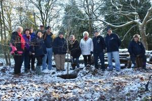 Tree Planting at Norton Priory