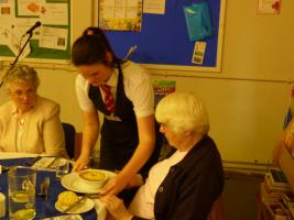 Senior Citizens' Lunch Party