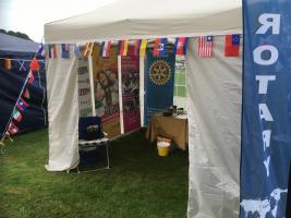 Club information tent