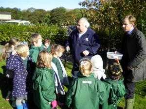 Crocus Planting at Askrigg Primary School