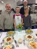 7 February 2015 District Final of Young Chef Competition.