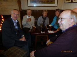 Club Social Event at The Barrasford Arms.
